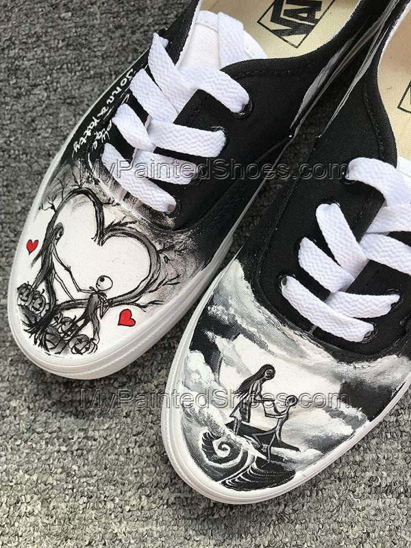 The Nighmare Fans Shoes Jack Skellington Shoes-2