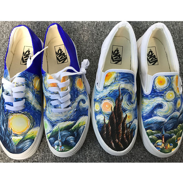 Starry Night Vans Van Gogh Starry Night Vans The Starry Night