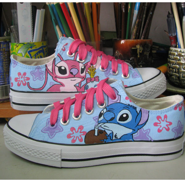 Lilo Shoes Stitch Shoes Lilo and Stitch Shoes Anime Shoes Custom