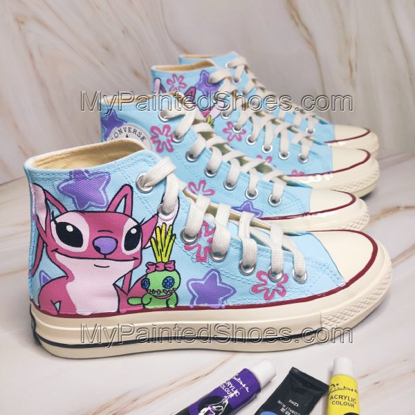 Stitch High Tops Lilo Shoes Stitch Shoes Lilo and Stitch Shoes A-2