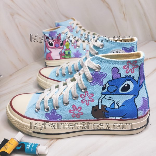 Stitch High Tops Lilo Shoes Stitch Shoes Lilo and Stitch Shoes A-3