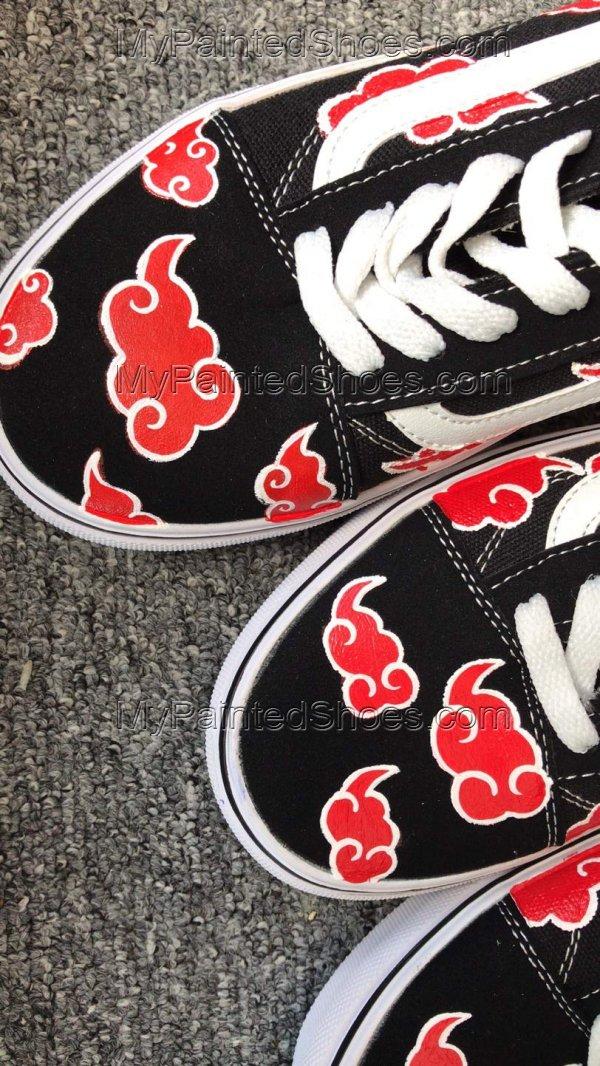 Akatsuki Custom Vans Akatsuki Cloud Shoes-2