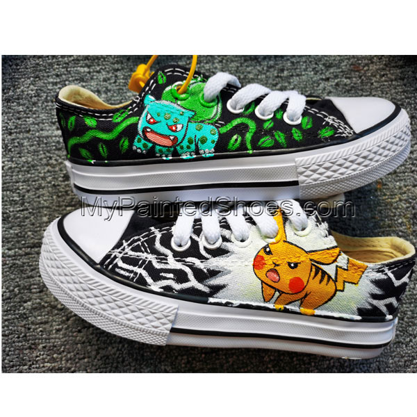 Pokemon Sneakers Hand Painted Shoes Custom Sneakers Men Women-1