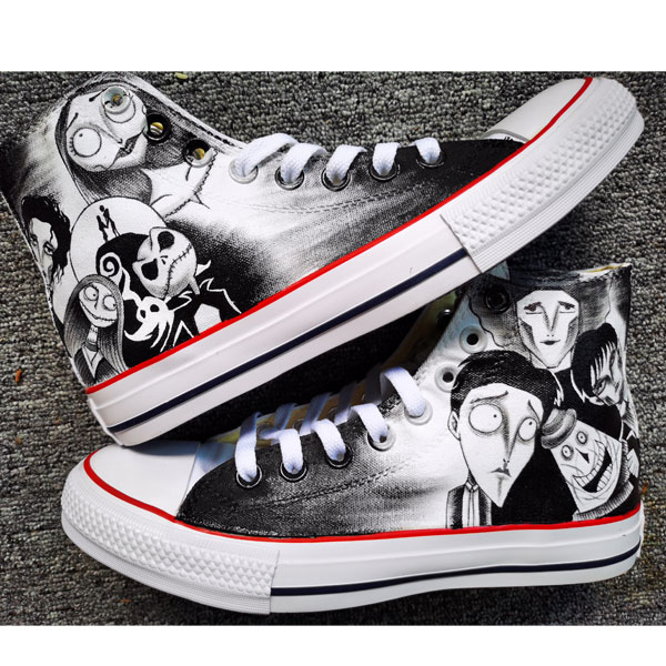 Tim Burton Shoes Johnny Depp Edward Scissorhands Corpse Bride