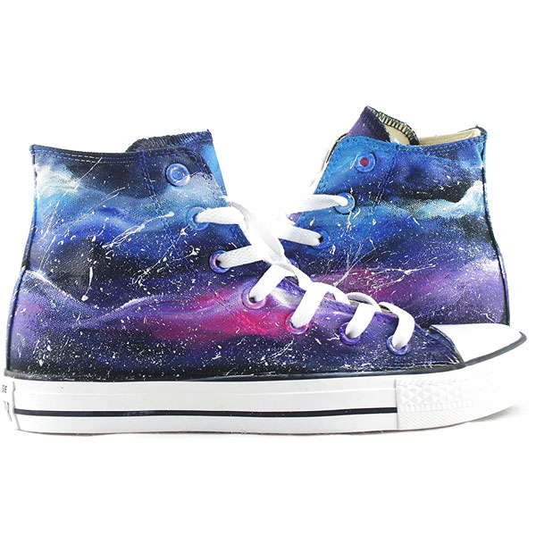 Galaxy Shoes Design Custom Galaxy High Top Men Women
