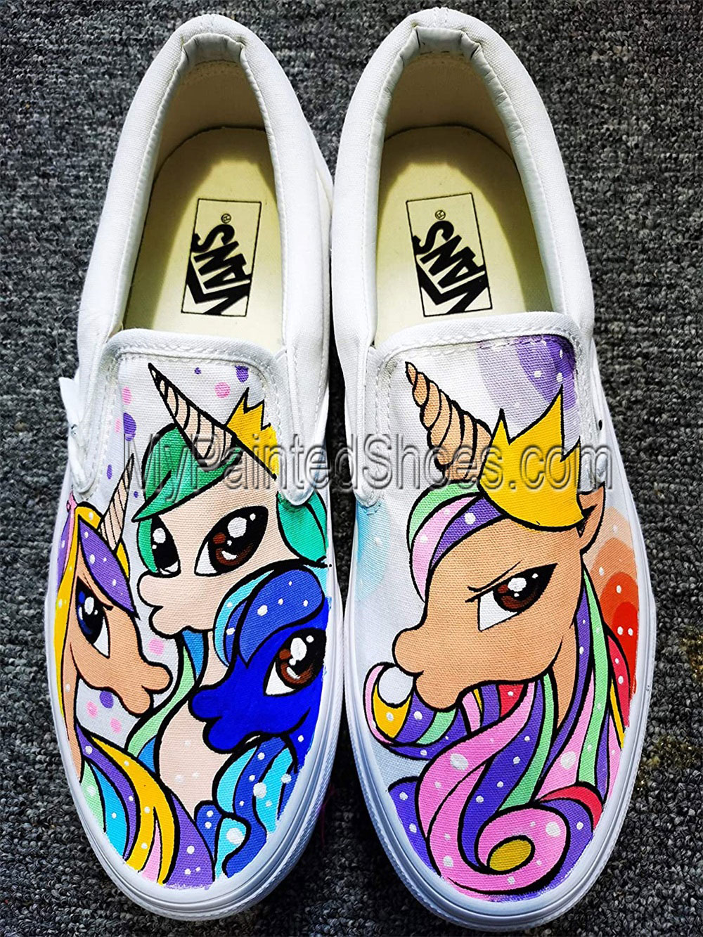 My Little Pony Sneakers Hand Painted Shoes Rainbow Dash Shoes-1