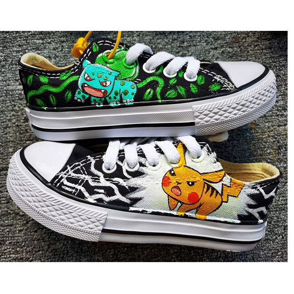 Pokemon Sneakers Hand Painted Shoes Custom Sneakers Men Women