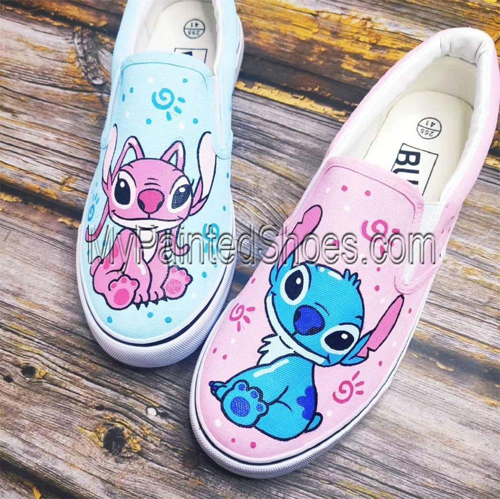 Custom Stitch Shoes Sneakers Women Men-1