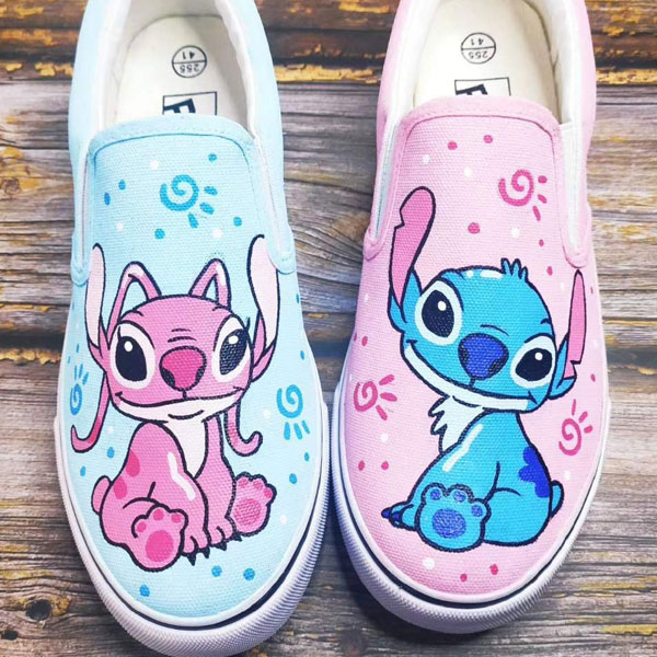 Custom Stitch Shoes Sneakers Women Men