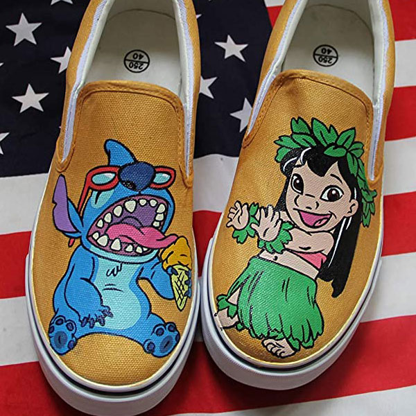 Lilo Stitch Shoes Lilo and Stitch Women Men