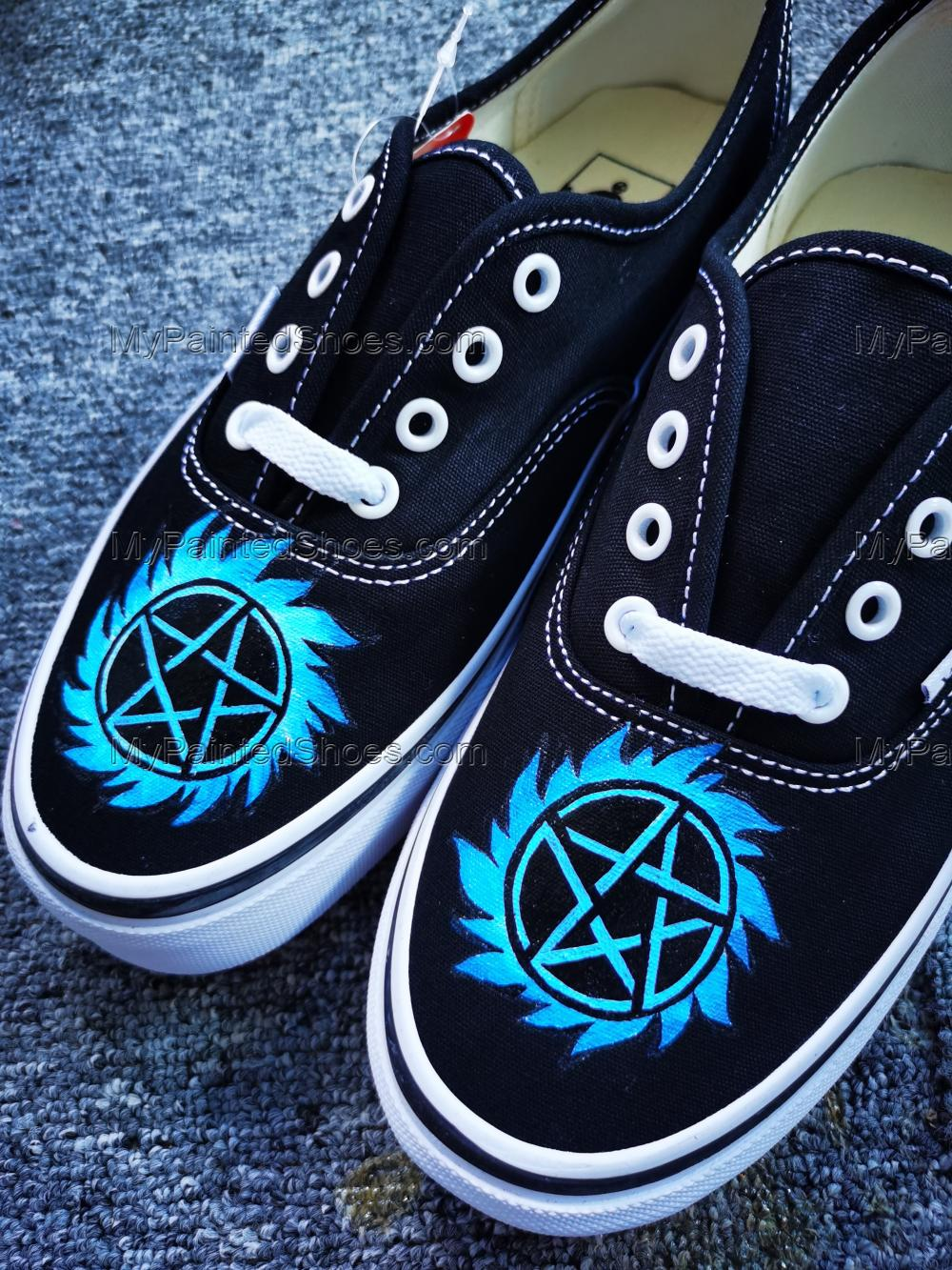 2021 Supernatural Shoes Custom Authentic Sneakers-1