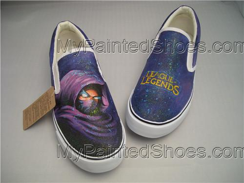 2021 League Of Legends Shoes Custom Shoes Painting Shoes DIY Wed-1