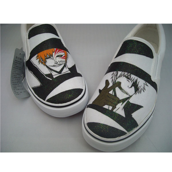 Bleach Shoes Custom Shoes Hand Painted Shoes Gift Shoes Gifts