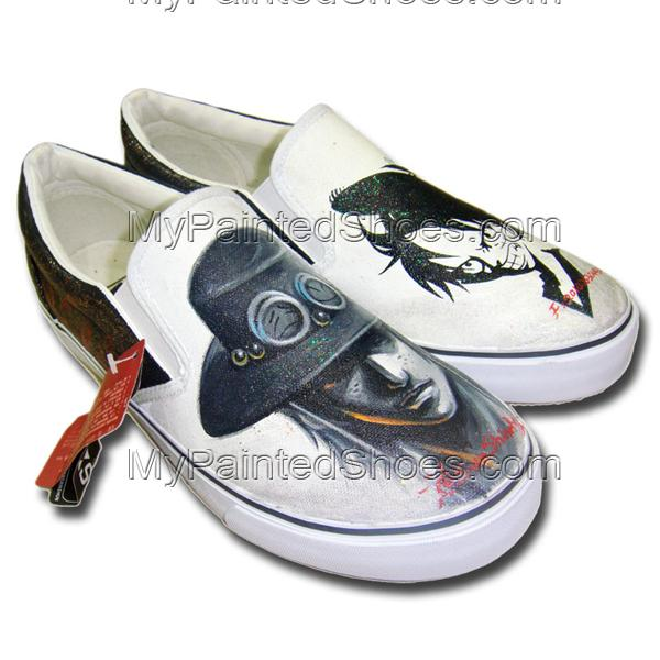 Hand Painted Custom One Piece Shoes-1