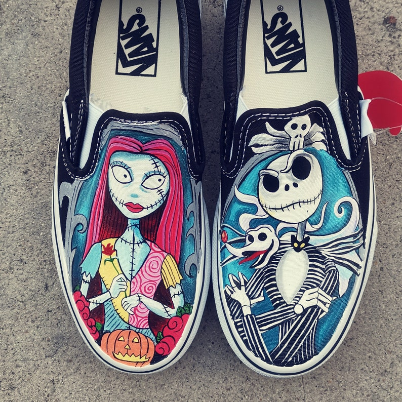 Jack Skellington and Sally Shoes The Nightmare Before Christmas