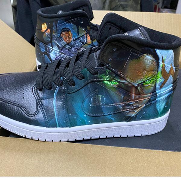League of Legends Jordan AJ 1 Custom Air Jordan 1 Sneakers