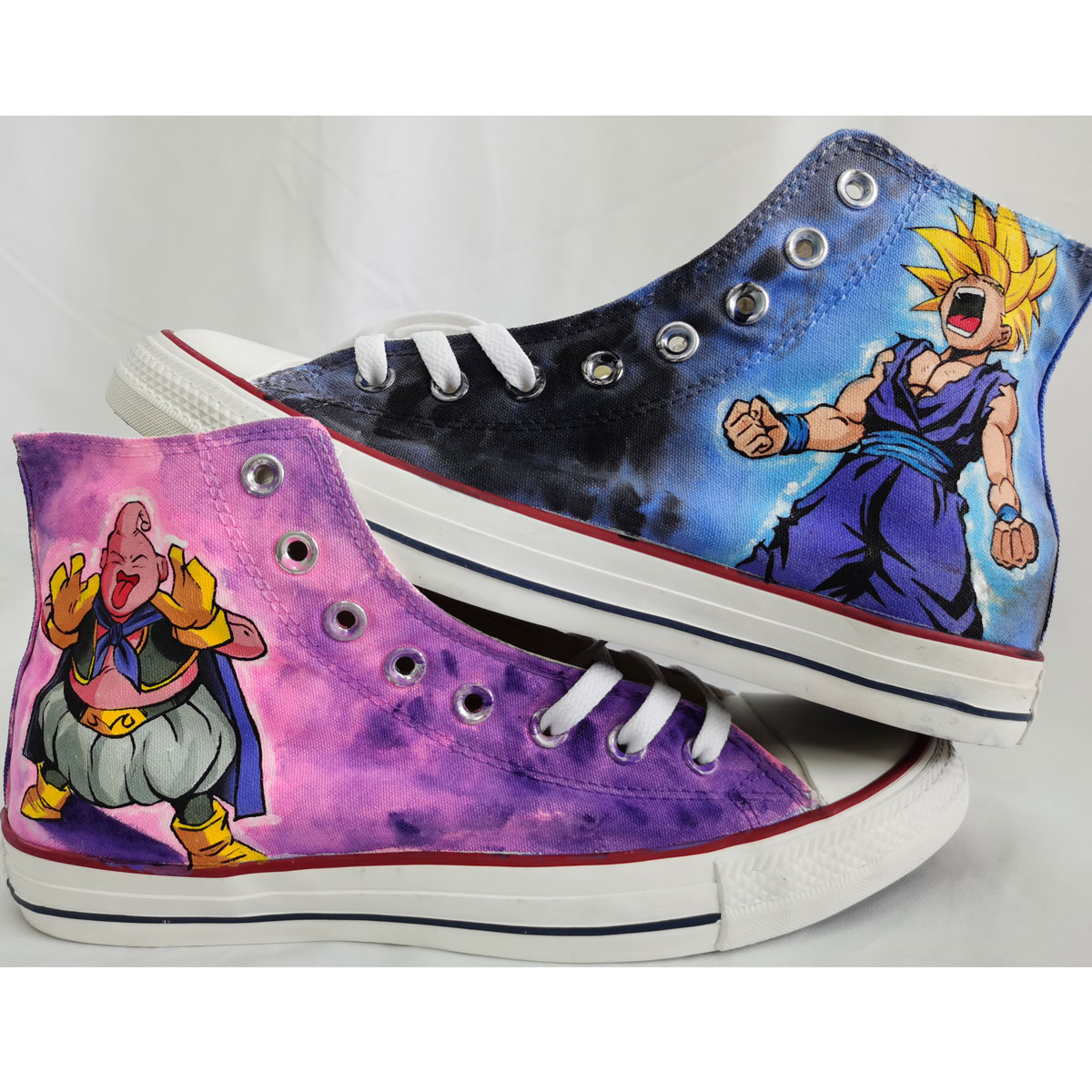 Dragon Ball Z Hand Painted Shoes Custom High Tops-1
